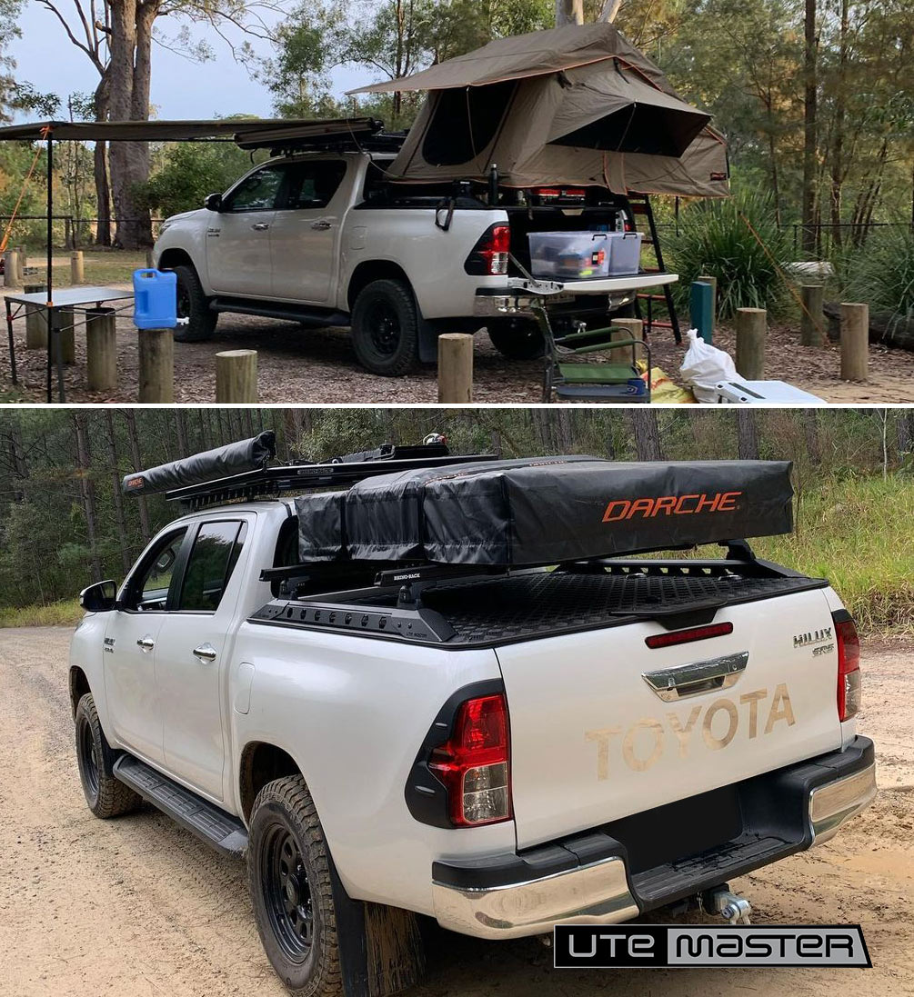 Mounting a Roof Top Tent to a Ute Hard Lid Utemaster Load Lid