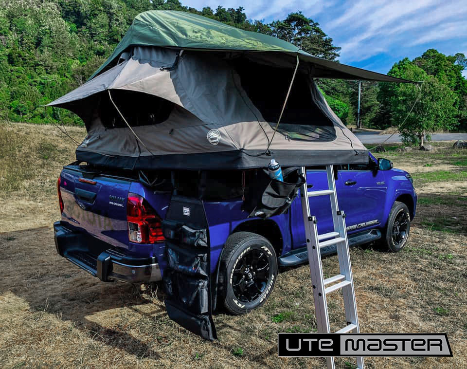Mounting a Roof Top Tent to a Ute Hard Lid Utemaster Load Lid Feldon Shelter