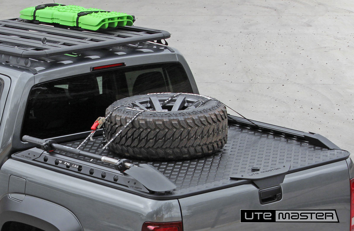 Ute hard lid Utemaster Load Lid Built Tough for adventure Hard Lid Tonneau Cover 4x4 Overland