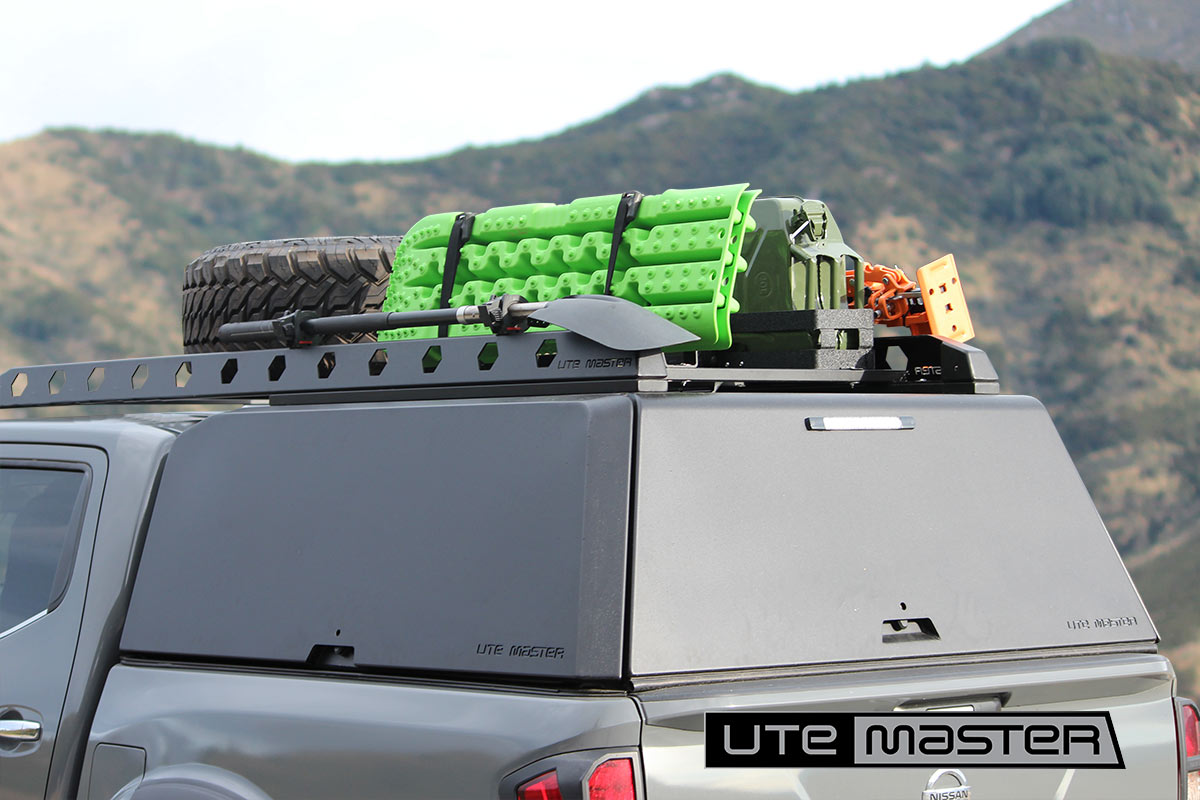 Utemaster Aluminium Canopy Super Customisable Adventure Touring Overlander